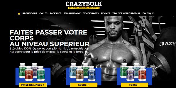 crazy bulk produits stéroide en france